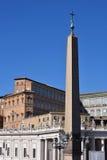 Piazza San Pietro, Vatikaan Stock Fotografie