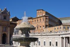 Piazza San Pietro, Watykan Fotografia Stock