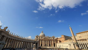Piazza San Pietro. Zoom. Vatican, Rome, Italy. Ti. Me Lapse. Video. UltraHD (4K stock video footage