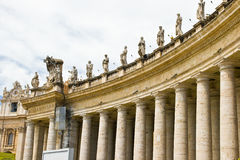 Piazza Sant Pietro in Rome, Italy Royalty Free Stock Image