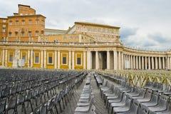 Piazza Sant Pietro in Rome, Italy Stock Image