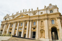Piazza Sant Pietro in Rome, Italy Stock Photo