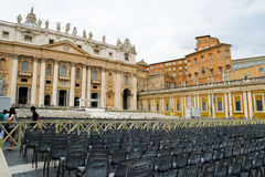Piazza Sant Pietro in Rome, Italy Stock Photos