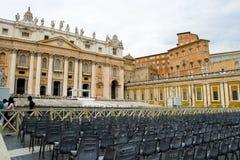 Piazza Sant Pietro in Rome, Italy Stock Photos