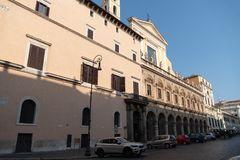 Piazza SS Apostoli, Rome royalty-vrije stock fotografie