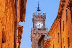 Piazza - streets of old town Royalty Free Stock Image