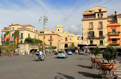 Piazza Tasso Stock Photo