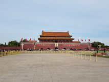 Piazza Tiananmen Pechino immagine stock libera da diritti