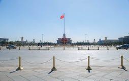 Piazza Tiananmen, Pechino, Cina fotografia stock libera da diritti