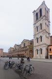 Piazza Trento e Trieste, Ferrara Stock Photos
