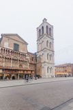 Piazza Trento e Trieste, Ferrara Royalty Free Stock Photography
