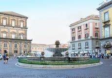 Piazza Trieste e Trento Stock Images