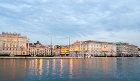Piazza unità d'Italia,Trieste Stock Photo