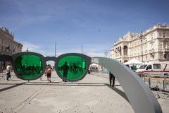 Piazza Unità, Trieste,Italy Stock Photo