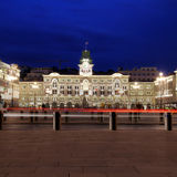Piazza Unita d'Italia, Trieste, Italy Royalty Free Stock Images