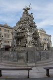 Piazza Unita in Trieste, Italia Stock Photography