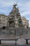 Piazza Unita in Trieste, Italia Stock Photography