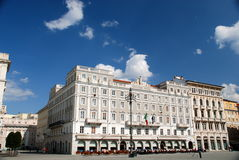 Piazza Unita, Trieste, Italy Royalty Free Stock Image