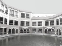 Piazza van Venetië Stock Foto