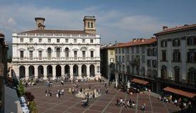 Piazza Vecchia Royalty-vrije Stock Foto's