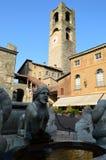 Piazza Vecchia Royalty Free Stock Photos