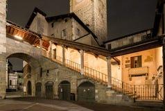 Piazza Vecchia Fotografia Stock Libera da Diritti