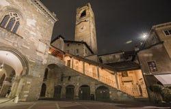 Piazza Vecchia Fotografia Stock