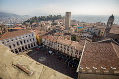 Piazza Vecchia Immagini Stock