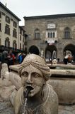 Piazza Vecchia Stock Image