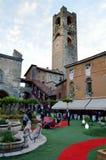 Piazza Vecchia Verde Royalty Free Stock Photo