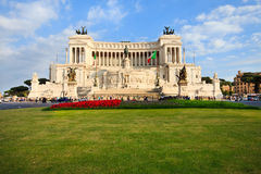 Piazza Venezia à Rome, Italie Photographie stock libre de droits
