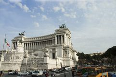 Piazza Venezia 1 Royalty Free Stock Photo