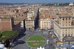 Piazza Venezia Royalty Free Stock Photos