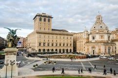 Piazza Venezia Zdjęcia Stock