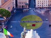 Piazza Venezia Fotografia Stock Libera da Diritti
