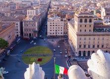 Piazza Venezia Royalty Free Stock Image