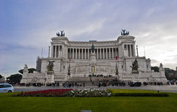 Piazza Venezia Altar of the Fatherland Stock Images