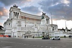Piazza Venezia, Roma Fotografia Stock Libera da Diritti
