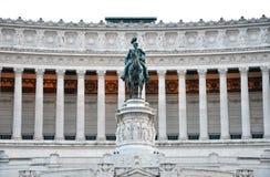 Piazza Venezia, Roma Immagini Stock