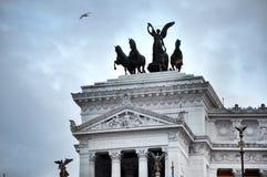 Piazza Venezia, Roma Immagine Stock