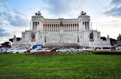 Piazza Venezia, Roma Fotografie Stock Libere da Diritti