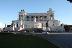 Piazza Venezia Roma, Italia Fotografia Stock Libera da Diritti