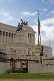 Piazza Venezia in Rome Stock Photos
