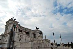 Piazza Venezia, Rome Image stock