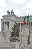 Piazza Venezia, Rome Royalty Free Stock Photography