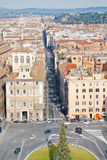 Piazza Venezia in Rome Royalty Free Stock Photos