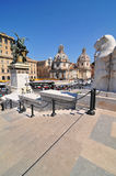 Piazza Venezia, Rome Royalty Free Stock Photo