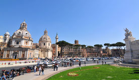 Piazza Venezia, Rome Stock Photography