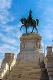 Piazza Venezia, Rome images libres de droits