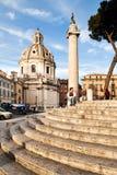 Piazza Venezia, Rome, Italië Stock Fotografie